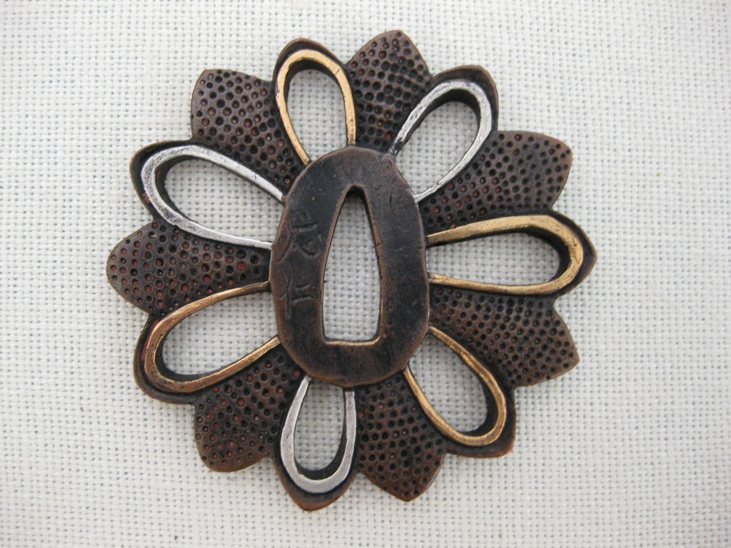 high quality copper tsuba (51)