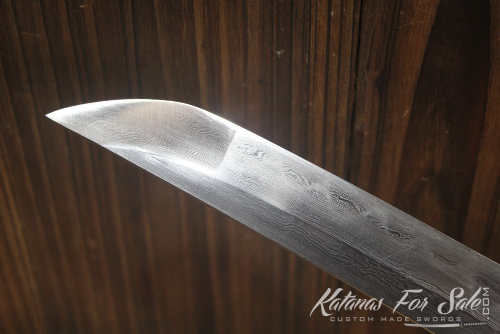Fully Functional 1095 Carbon Folded Clay Tempered Shirasaya Wakizashi -  Katanas For Sale