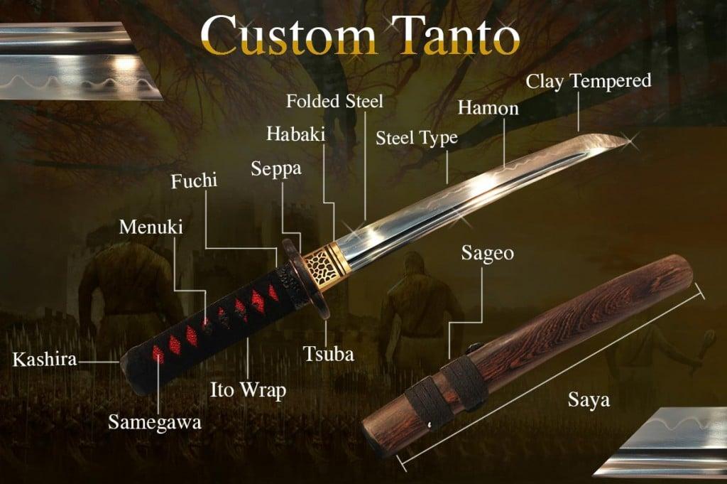 Custom-Tanto