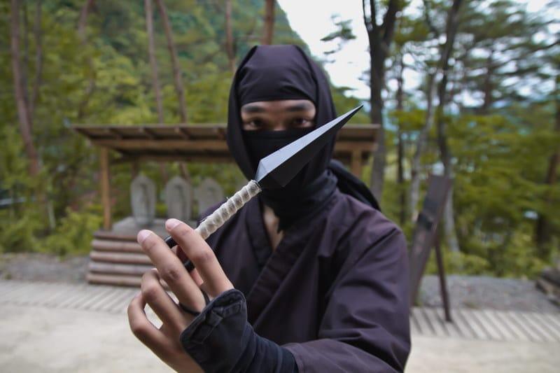 Ninja with Kunai
