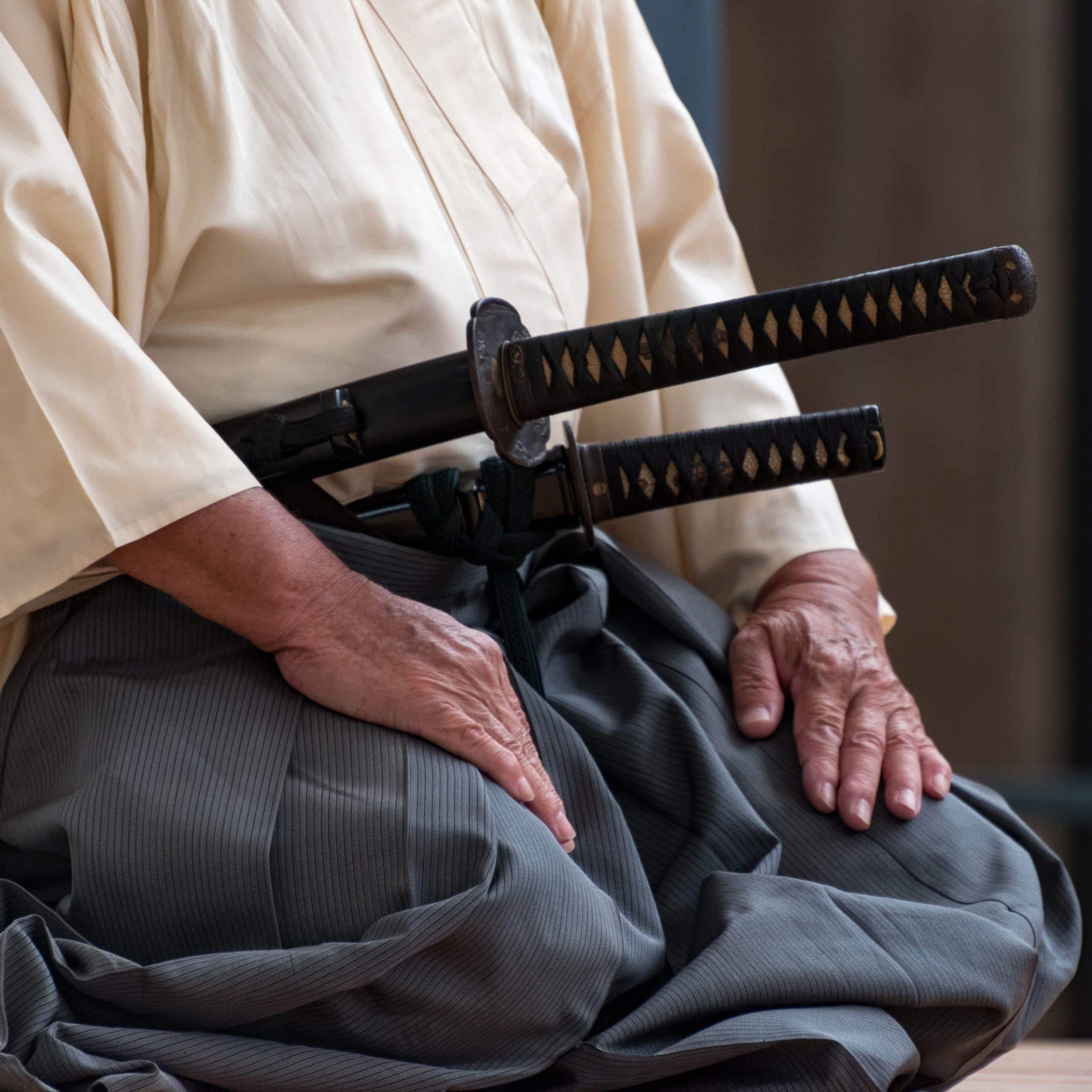 Samurai with daisho